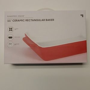 """Sharper Image Brand New 11"""" Rectangular Baker"""